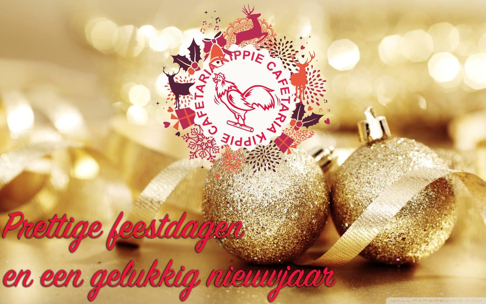 Prettige feestdagen en een gelukkig nieuwjaar!